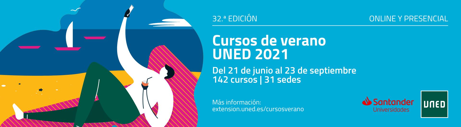 Cursos de verano UNED 2021. 32ª Edición.