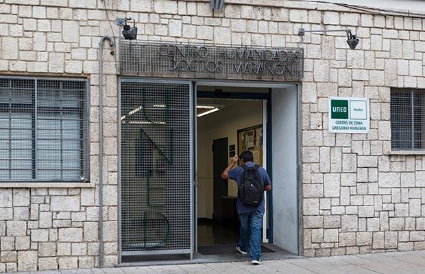 Sede Gregorio Marañón, fachada entrada principal.