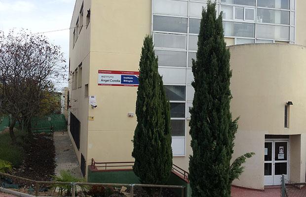 Sede de Colmenar Viejo, fachada entrada.
