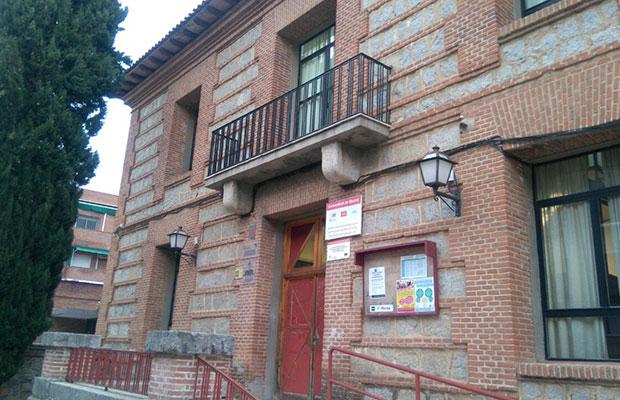 Sede de San Martín de Valdeiglesias, fachada.