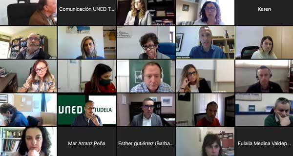 Taller Cátedra Calidad. Imagen de los participantes en linea durante el desarrollo del taller.