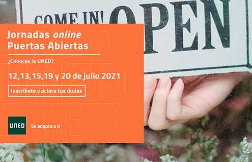Jornada de Puertas online UNED 2021
