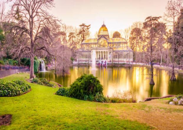El arte de los jardines. (Primera parte).Palacio de Cristal del Retiro.
